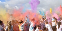 Feilding Colour Run 2020